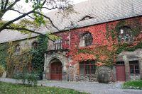 Innenhof der Domkanzlei in Halle