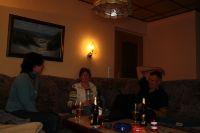 Isolde und Joachim bei sich zu Hause