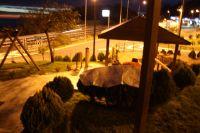 Unsere erste Nacht auf einer Raststelle - bei Andora