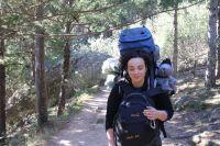 Auf dem Weg nach zu unsrer Zeltstelle in Manzanares