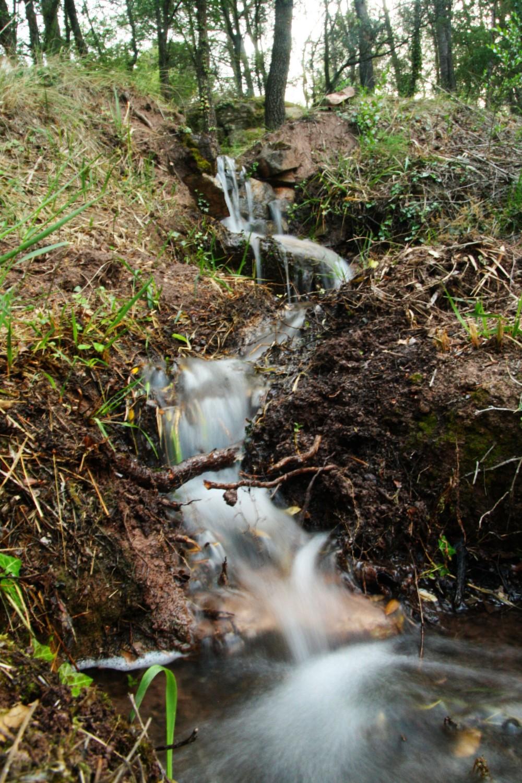 Unser eigener kleiner Wasserfall